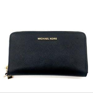 MICHAEL KORS Authentic Continental Zip Wallet